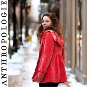 Anthropologie Idra Autumn Drive Jacket